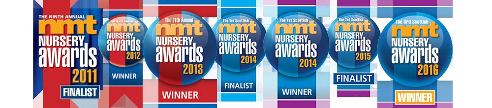 The Happy Feet NMT Nursery Awards