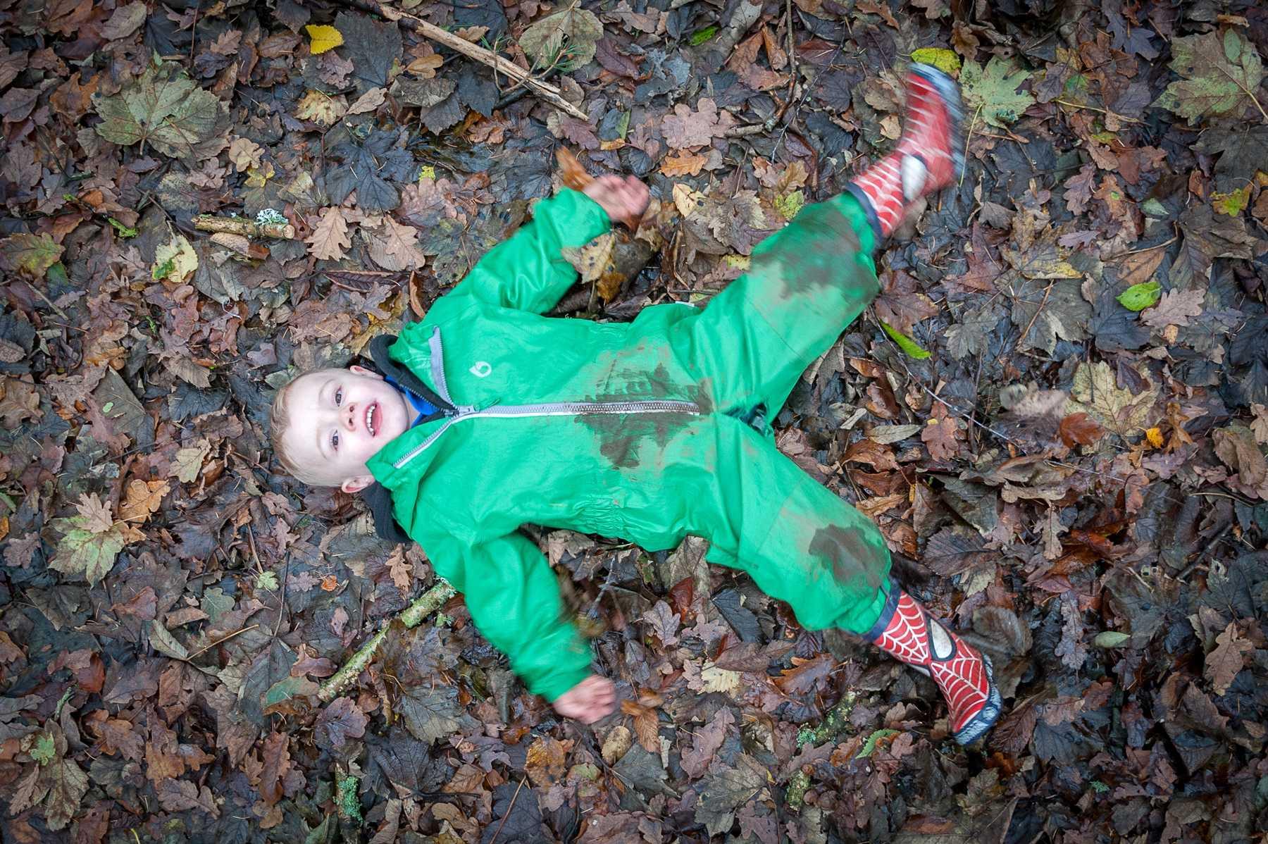 Forest School - Leaf Angel